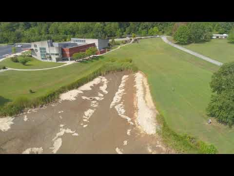 Laurel County Kentucky London Somerset Community College Pond footage 2