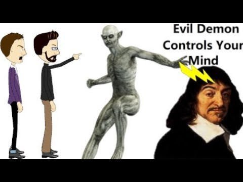 Descartes Meditation I - Of the things which may be brought into Doubt