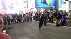 Street Dancing @ Times Square, New York