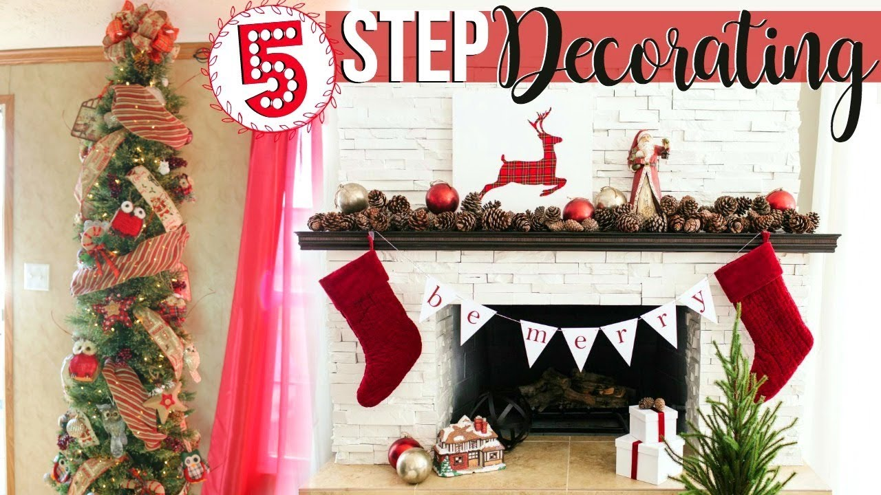 5 steps to decorating a christmas tree like a professional christmas tree how to page danielle - Steps To Decorating A Christmas Tree