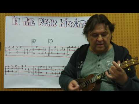 CHRISTMAS Ukulele Lesson #22: IN THE BLEAK MIDWINTER - Fingerstyle Instrumental Version
