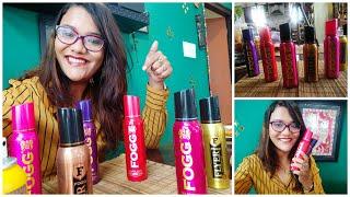 My FAV FOGG FRAGRANCES Product Review Beautyandthecode Shriya Sagdeo