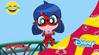 Ladybug. Cortos Chibi Ep. 4 | Disney Channel Oficial