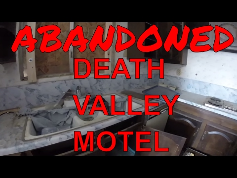 Abandoned Death Valley Motel
