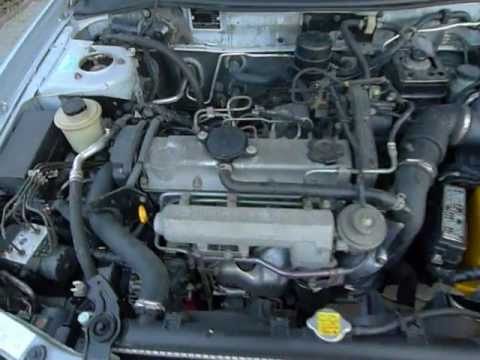 Nisan Primera 2.0 TD Engine work I .MOV