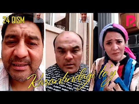Karantindagi To'y (o'zbek Serial) | Карантиндаги туй (узбек сериал) 24-qism