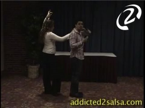 Dancing Salsa Lesson for Beginners