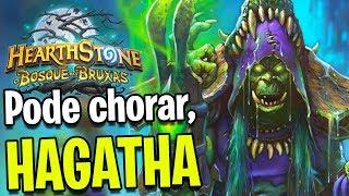 Hearthstone – A HAGATHA SOFREU DEMAIS!