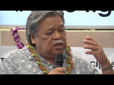 Ben Cayetano talks about David Ige at Youth for Ige Rally