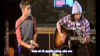[Vietsub+Kara Lyrics] Justin Bieber - As Long As You Love Me (Acoustic Version)