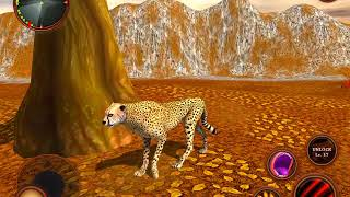 Wild Cheetah Simulator Game - Animal Survival 3D