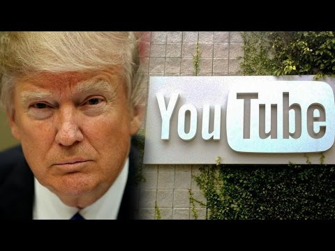 Thumbnail: YouTube CEO Follows a RACIST? Trump ANGRY At YouTube Video