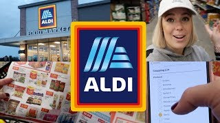 GROCERY SHOPPING WITH ME 2018  //ALDI *HEALTHY GROCERIES* | GLENDA