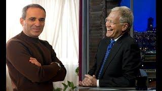 Garry Kasparov vs David Letterman Telephone Match
