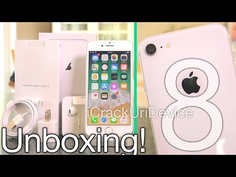 Apple iPhone 8: Unboxing and Review! (Hands On Setup)
