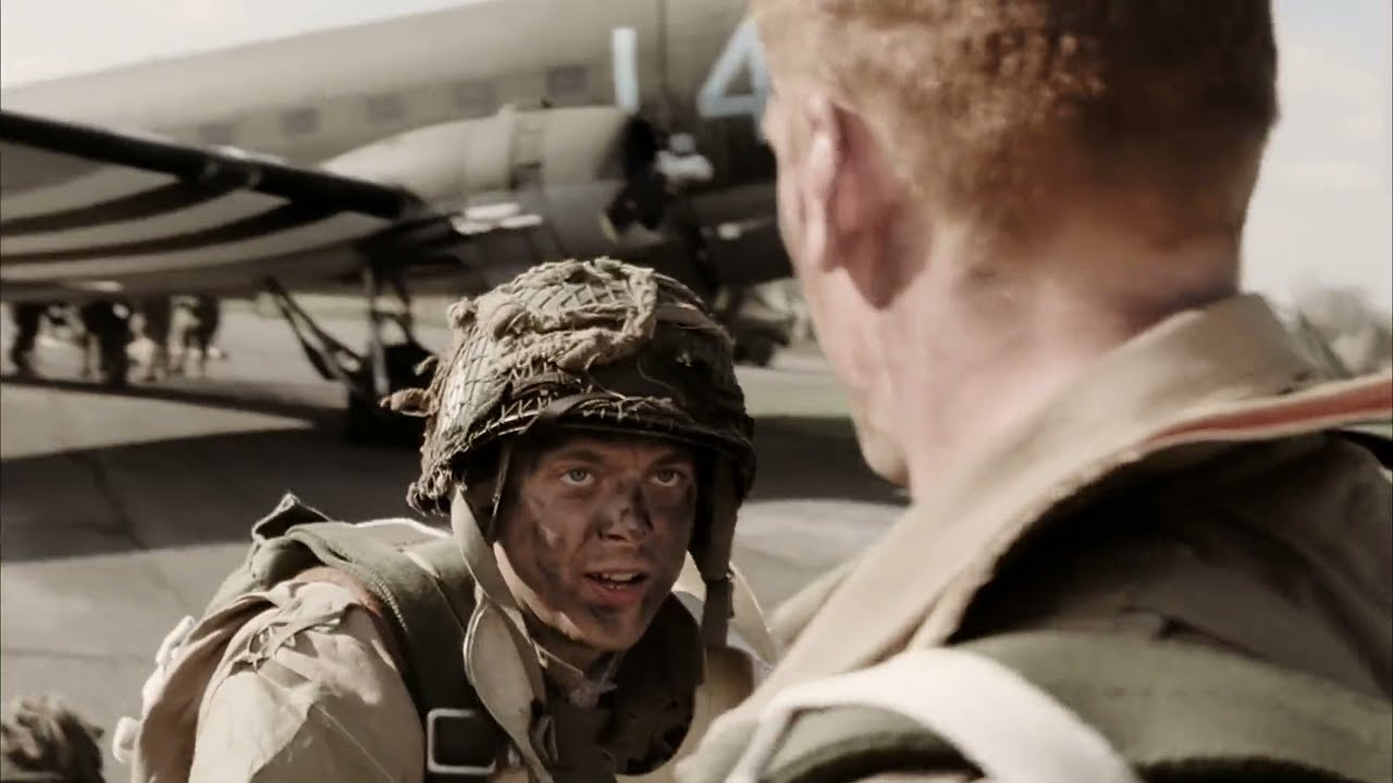 Download [Band of Brothers   2001] [Episode 01   Currahee] [Take-off, Operation Overlord]
