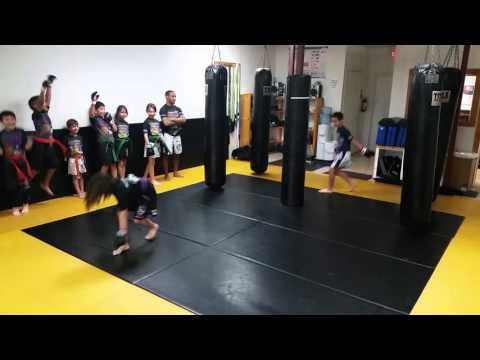 Kids II Jump Rope race