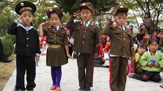 Только дети КНДР могут с такой любовью петь о ядерном конце света.