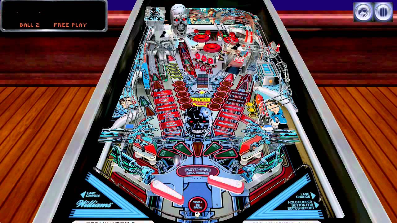 Terminator 2: Judgment Day The Pinball Arcade - Mac OS Version