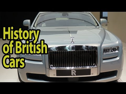 The History of British Cars