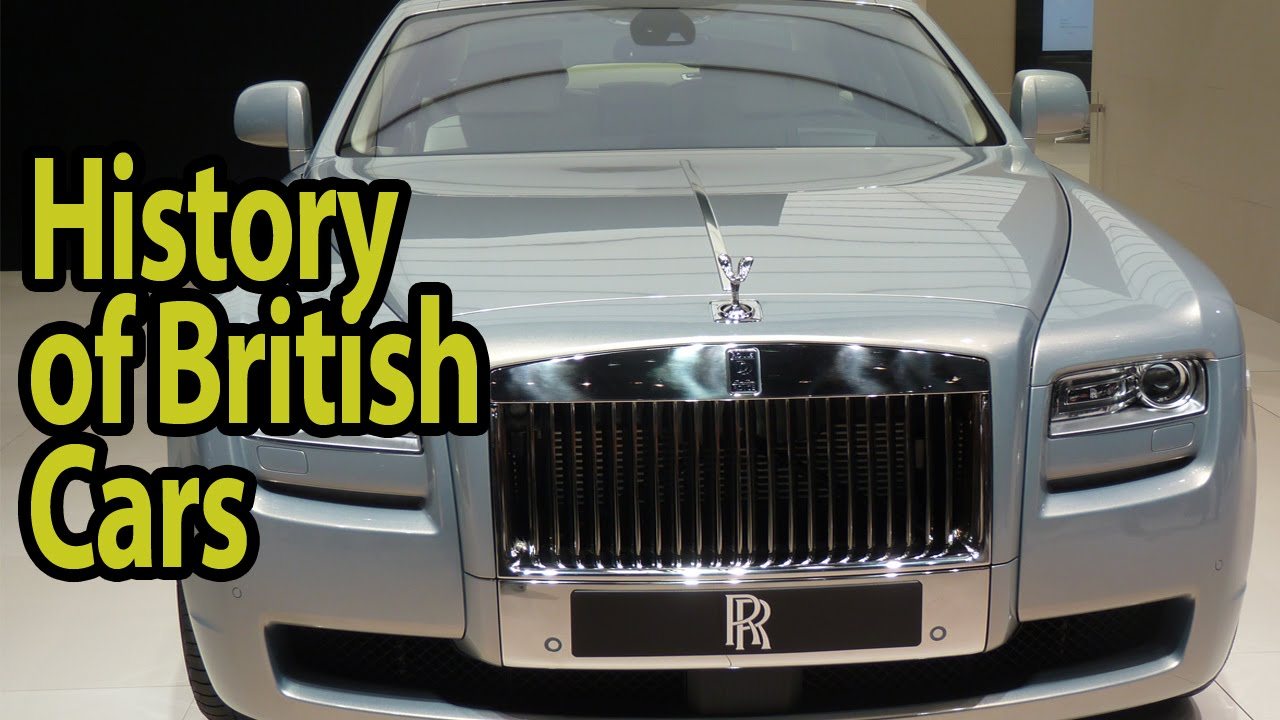 The History of British Cars - YouTube