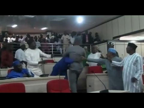 Benue Lawmakers Fight Over House Leadership -- 23/06/15