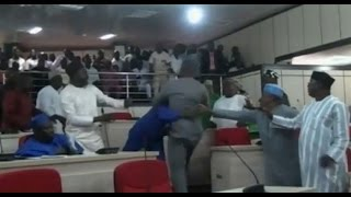 Benue Lawmakers Fight Over House Leadership -- 230615