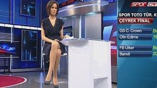 Dilara Gönder Beautiful Turkish Tv Presenter 10.02.2013