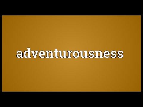 Header of adventurousness
