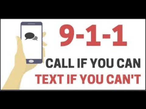 Now You Can Text to 911 in LA County