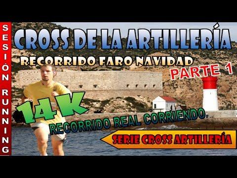 Cross de la Artilleria de Cartagena - 14k Faro de Navidad Parte 1 [Running]
