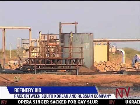 Uganda oil refinery bid