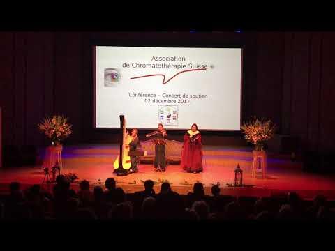 Piazzolla: Ave Maria (Soprano, Violin, Harp)