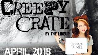 Creepy Crate April 2018 Unboxing