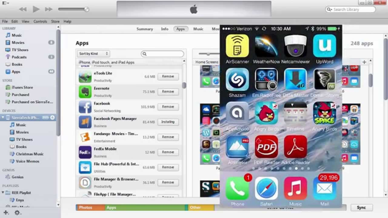 How to install or restore an older version single app using iTunes 11  backup on iPhone iPad ipod