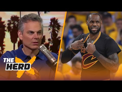 Colin Cowherd on how LeBron could change the Warriors, Kawhi's shortcomings as a leader | THE HERD