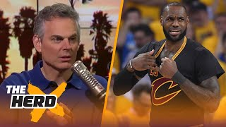 Colin Cowherd on how LeBron could chang...