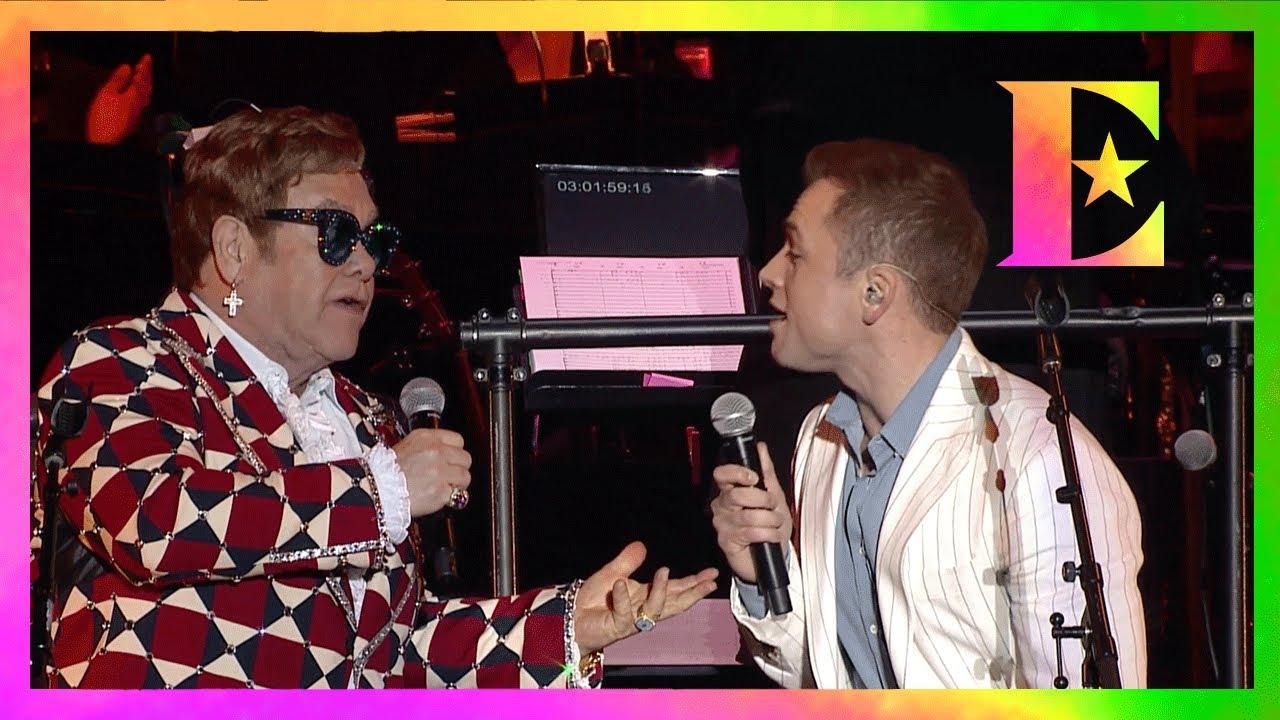 Elton John & Taron Egerton — (I'm Gonna) Love Me Again — Live at the Greek Theater
