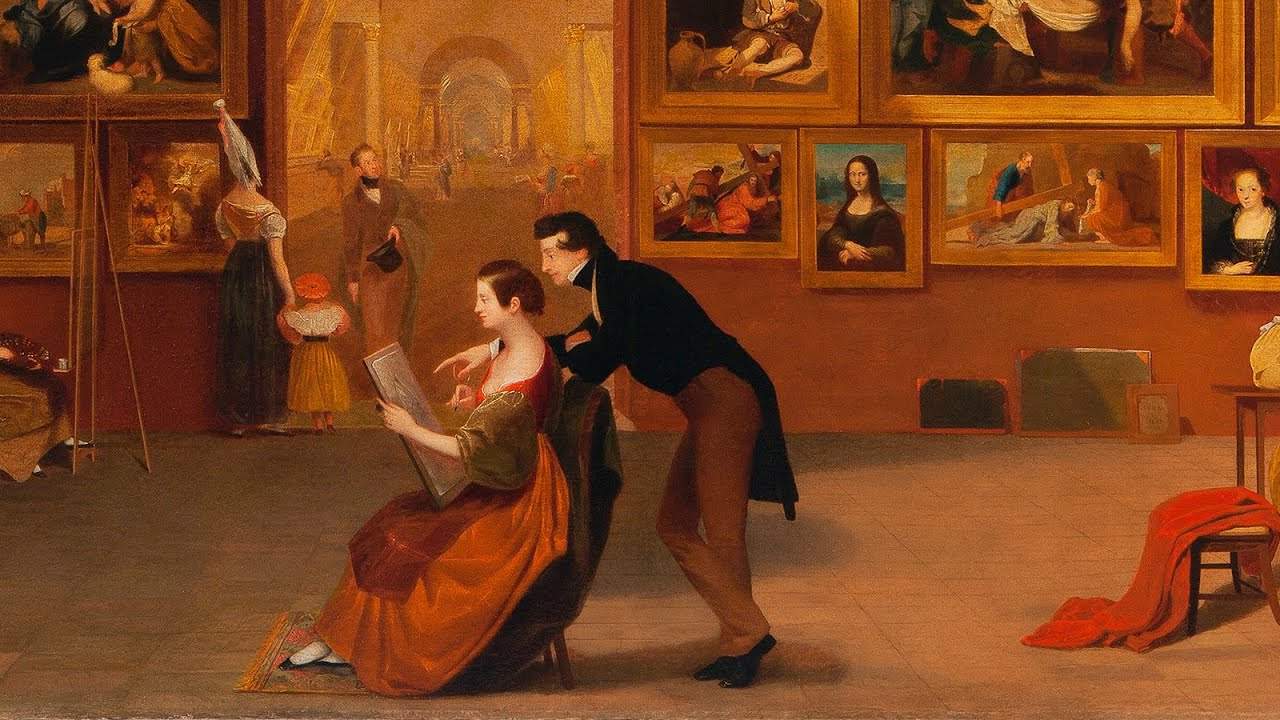 samuel f b morse and american artists at the louvre