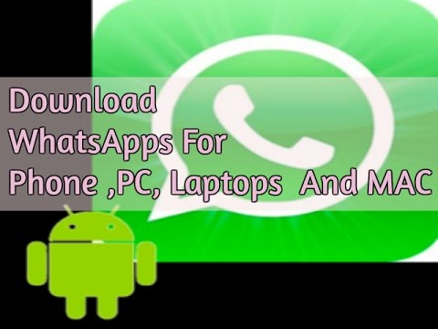 Download WhatsApp APK For Android 2017