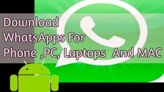 Download lagu Download WhatsApp APK for Android 2017