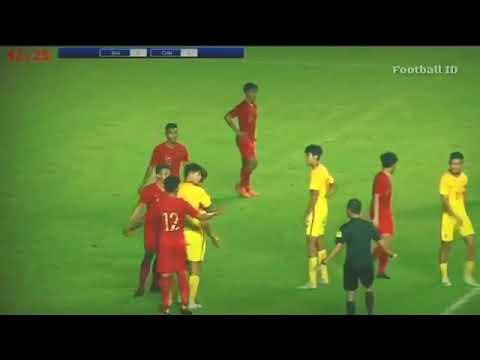 Indonesia 0-3 China/Hasil Pertandingan PSSI Anniversary Cup/25.09.2018