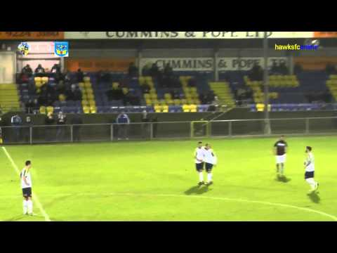 Havant & Waterlooville v Weymouth FA Trophy Replay  Dec 2014
