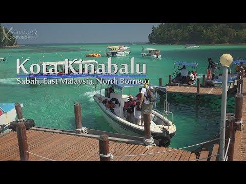 Kota Kinabalu, North Borneo, 4K Day 1