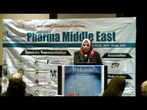 Salwa Elmeligie | Egypt | Pharma Middle East 2015| Conference Series LLC
