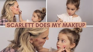 My 3-Year Old Does My Makeup | Molly Sims
