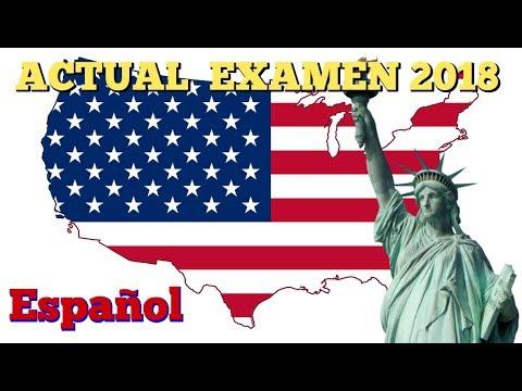EXAMEN DE CIUDADANIA AMERICANA 2018  NUEVO Y ACTUAL 2018/PREGUNTAS PARA LA ENTREVISTA DE INMIGRACION