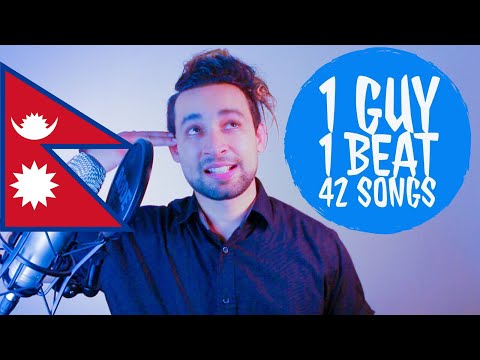 42 SONGS ON 1 BEAT MASHUP COVER