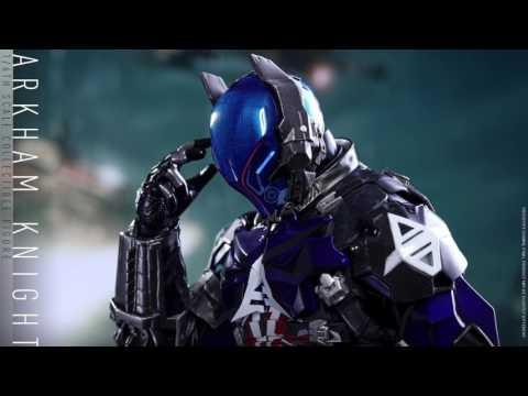 Batman Arkham Knight Hot Toys Arkham Knight 1/6 Scale Video Game Figure Reveal!