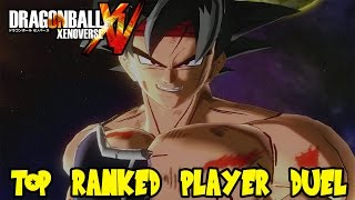 Dragon Ball Xenoverse: Fighting The #1 Ranked Player In World! Bardock